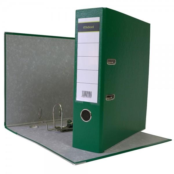 Ordner A4 8 cm PP Kunststoff Grün Aktenordner Briefordner