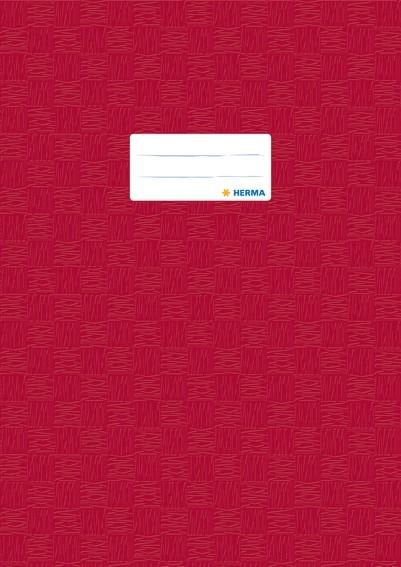 HERMA 7450 2500x Heftschoner PP A4 gedeckt/weinrot