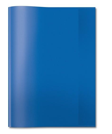 HERMA 7493 2500x Heftschoner PP A4 transparent/dunkelblau
