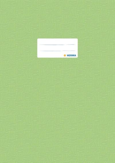 HERMA 7455 2500x Heftschoner PP A4 gedeckt/hellgrün
