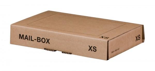 Versandkarton 244 x 145 x 43 mm mit Steckverschluss in Braun