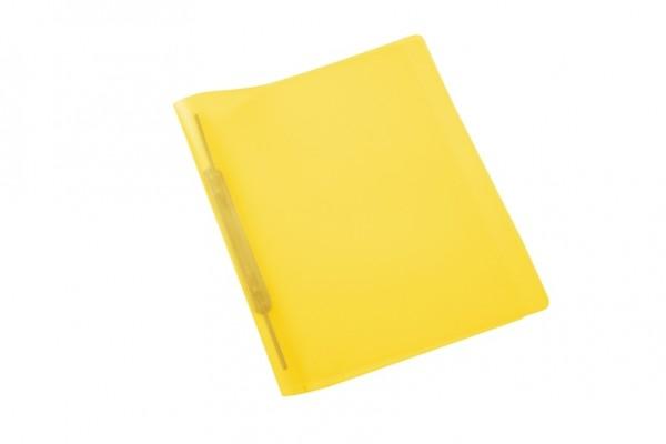 HERMA 19536 3x Spiralschnellhefter A4 transluzent gelb