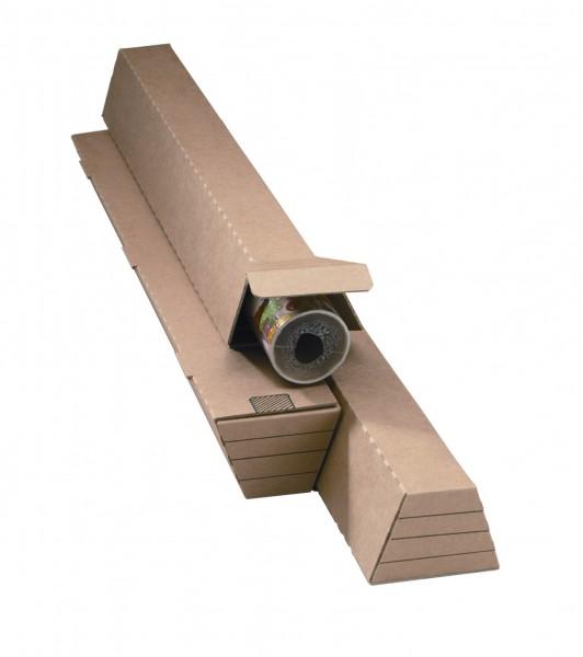 1005 x 105 / 55 x 75 mm Trapez-Versandhülse
