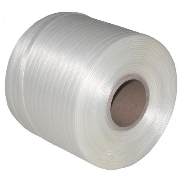1 Rolle 9 mm 500 m 275 KG Ballenpresse Textil Band Umreifungsban