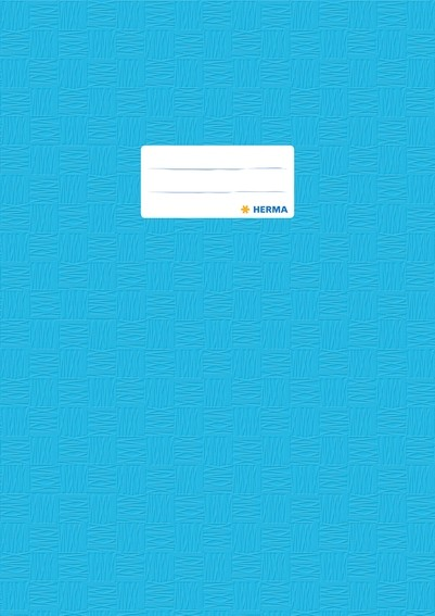 HERMA 7453 2500x Heftschoner PP A4 gedeckt/hellblau