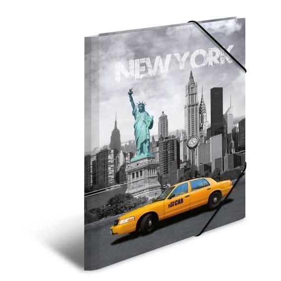 HERMA 7263 3x Sammelmappe A4 PP New York