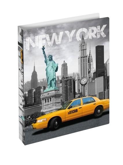 HERMA 19132 3x Ringbuch A4 New York