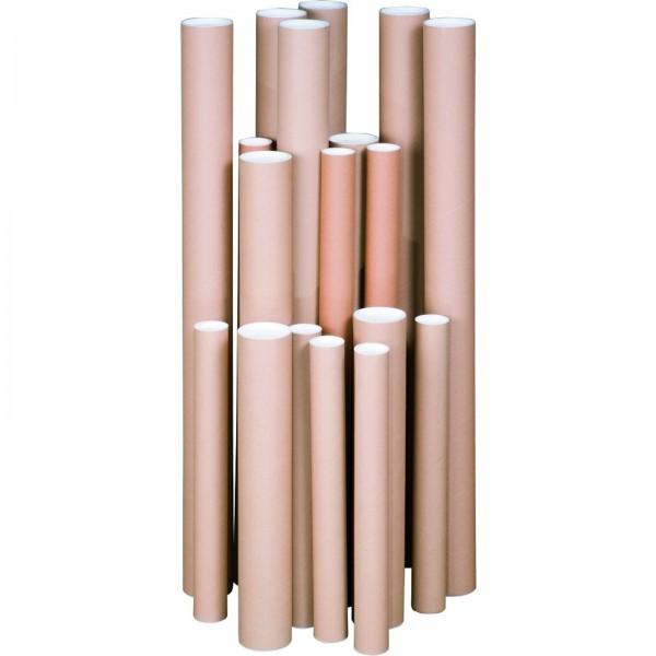 Verandrohr mit Deckel 970 x 100 x 2,0 mm