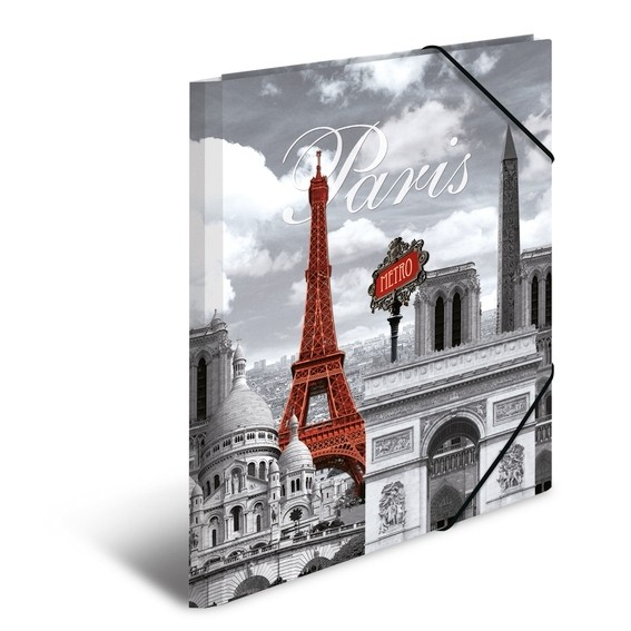 HERMA 7266 3x Sammelmappe A4 PP Paris