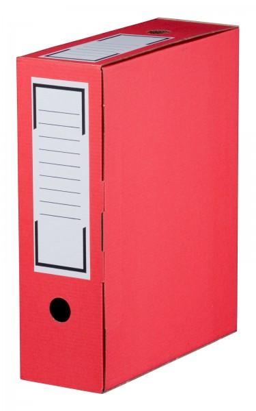 Archiv-Ablagebox 315 x 96 x 260 mm Rot