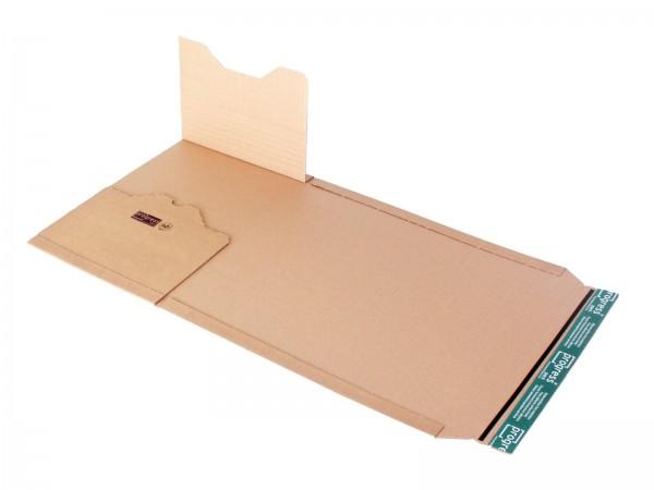 Buch-Versandverpackungen DIN C4 328 x 255 x -80 mm