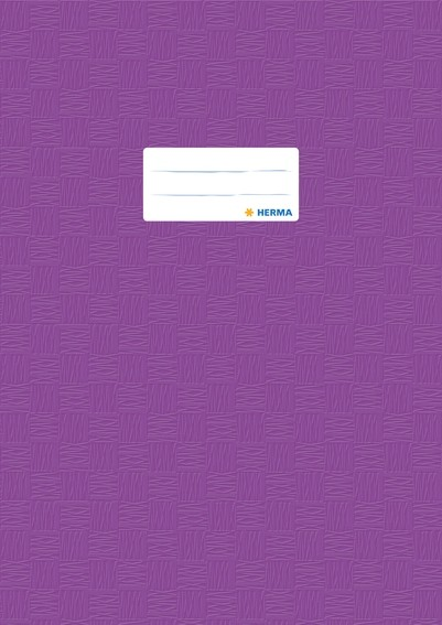 HERMA 7446 2500x Heftschoner PP A4 gedeckt/violett