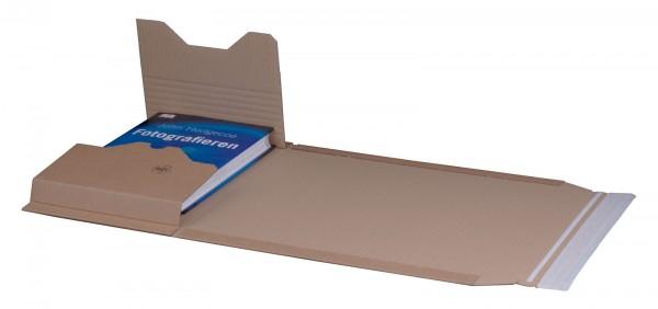 Buchversandverpackung 304 x 215 x 80 mm DIN A4