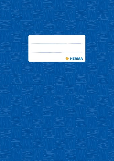 HERMA 7423 2500x Heftschoner PP A5 gedeckt/dunkelblau