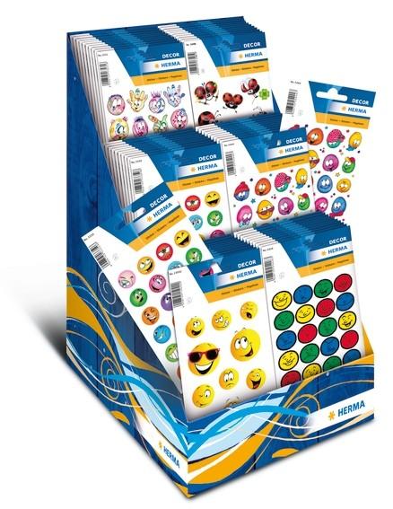 HERMA 3097 Display Sticker DECOR Belohnungssticker 2016