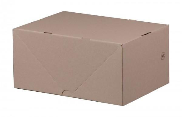 Stülpdeckelkarton 305 x 215 x 150 mm DIN A4 höhenvariable
