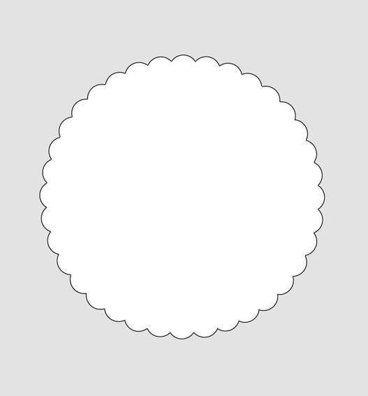 HERMA 6106 Siegelmarken Ø 50 mm weiß 1000 St.