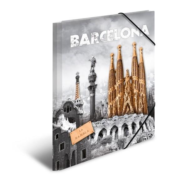 HERMA 7269 3x Sammelmappe A4 PP Barcelona