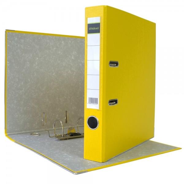 Ordner A4 5 cm PP Kunststoff Gelb Aktenordner Briefordner