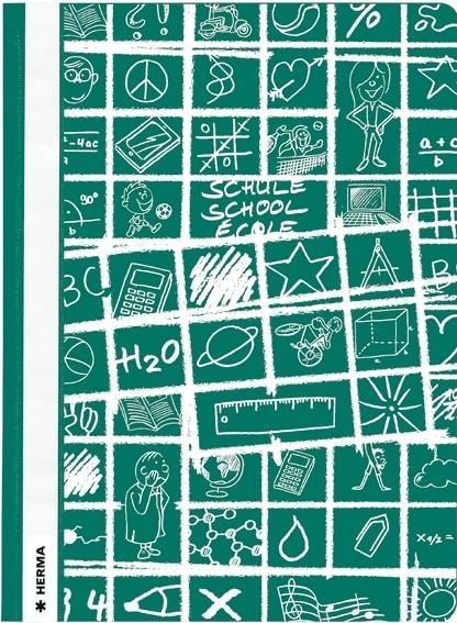 HERMA 19364 10x Schnellhefter A4 SCHOOLYDOO grün
