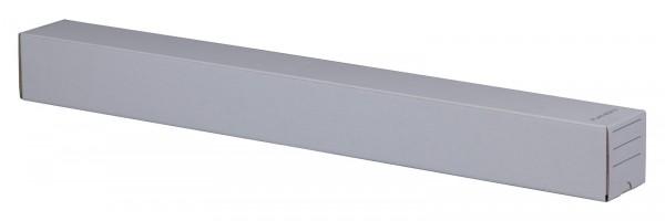 Versandhülse mit Steckverschluss 750 x 75 x 75 mm in Weiß