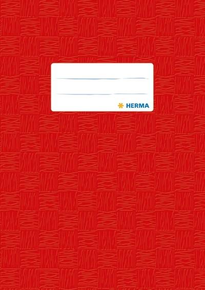 HERMA 7422 2500x Heftschoner PP A5 gedeckt/rot