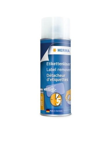 HERMA 1266 Etikettenlöser Sprühdose Aerosol 200 ml, 6 Stk.