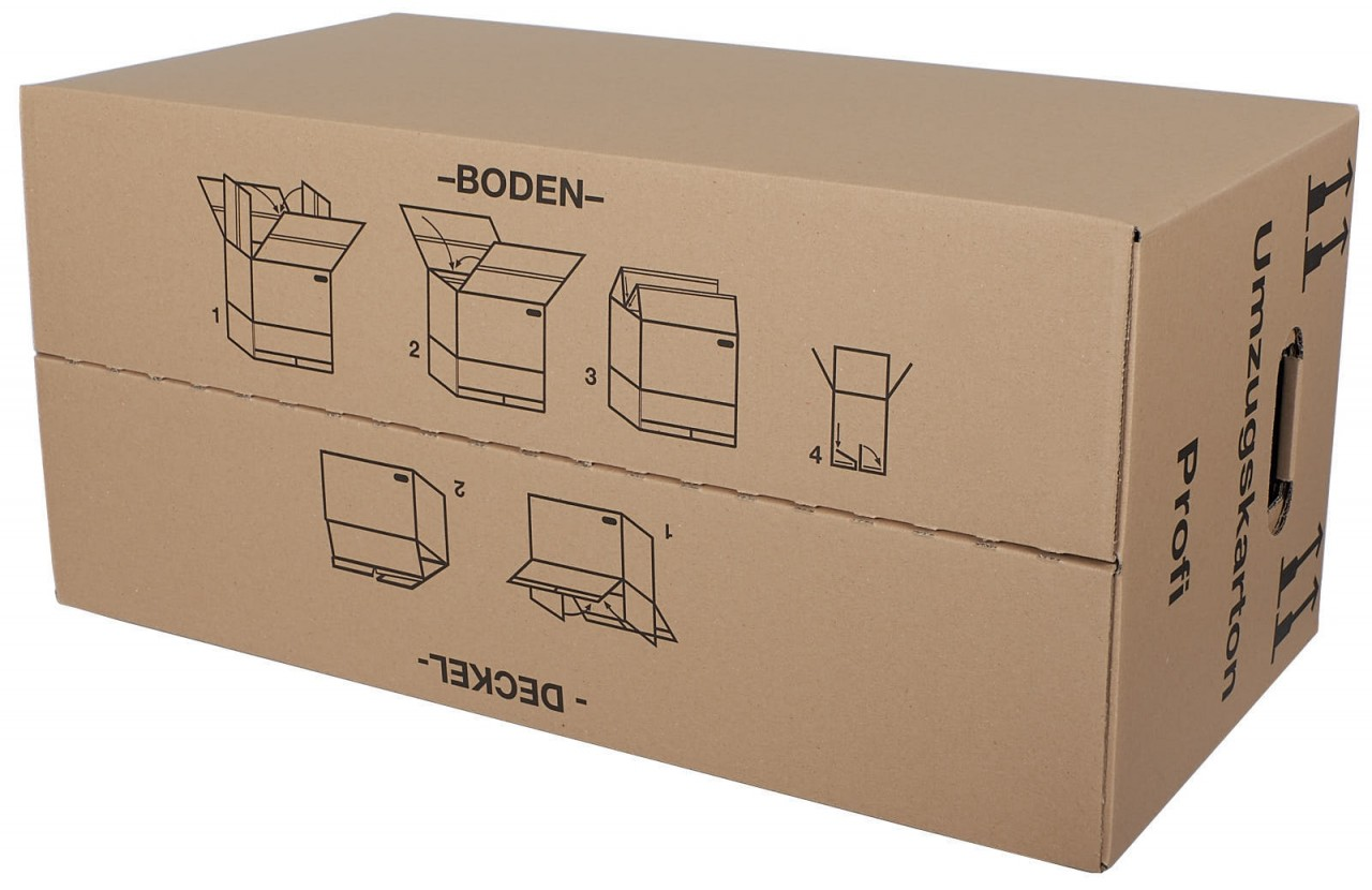 umzugskarton umzugkartons profi kk verpackungen. Black Bedroom Furniture Sets. Home Design Ideas