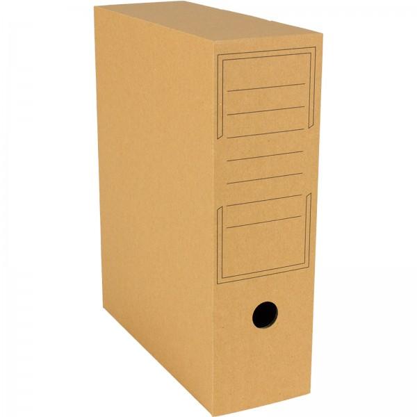 Archiv-Ablagebox 319 x 94 x 257 mm Braun