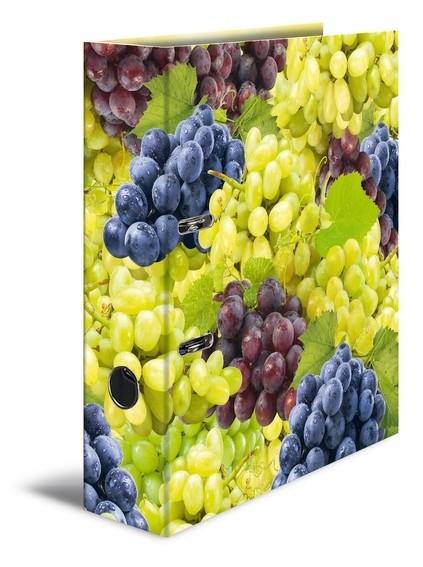 HERMA 7111 10x Motivordner A4 Früchte - Trauben