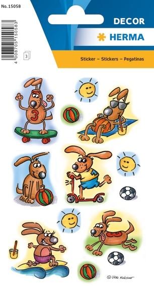 HERMA 15058 10x Sticker DECOR Sportsfreund