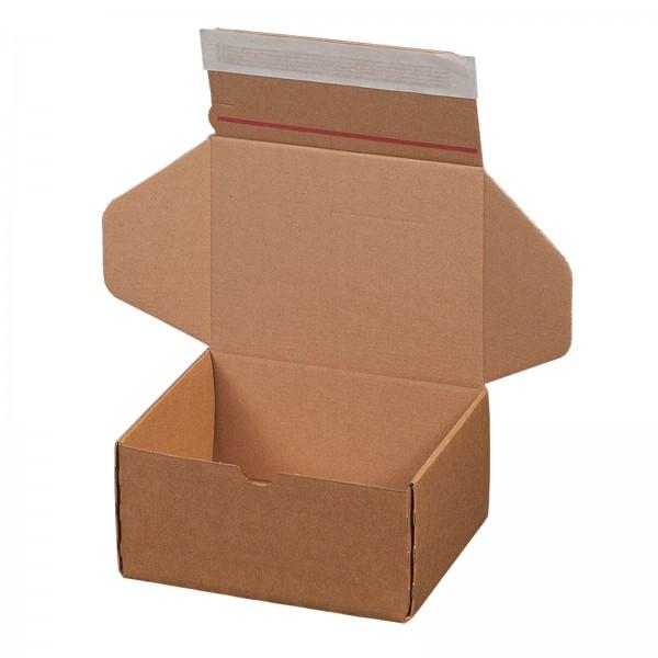 Versandkarton 192 x 155 x 91 mm mit Selbstklebeverschluss & Aufreißfaden