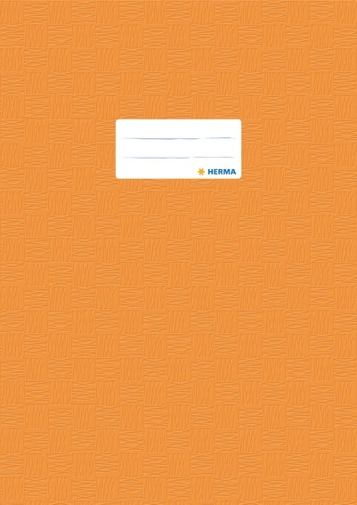 HERMA 7444 2500x Heftschoner PP A4 gedeckt/orange