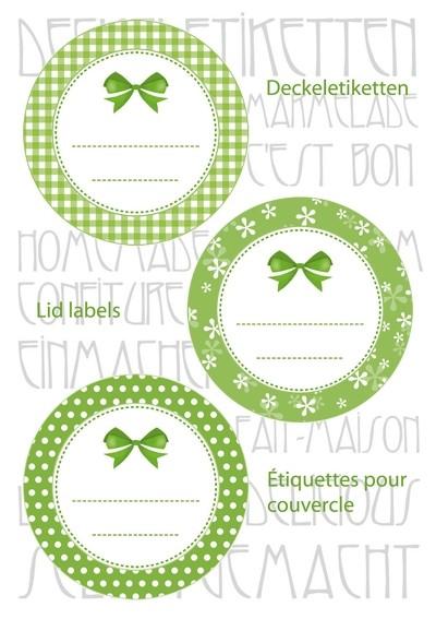 HERMA 15053 10x Sticker HOME Deckeletiketten Ø 44 grün