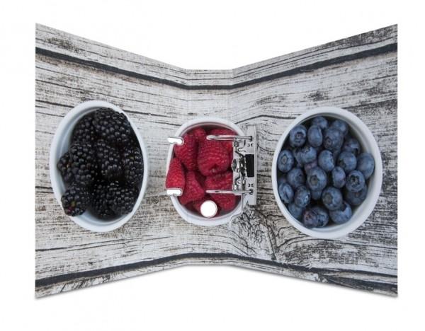HERMA 7112 10x Motivordner A4 Früchte - Waldbeeren