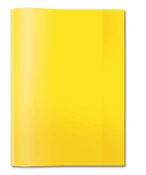 HERMA 7481 2500x Heftschoner PP A5 transparent/gelb