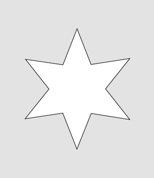 HERMA 3905 10x Sticker DECOR Sterne 6-zackig, gold Ø 21 mm