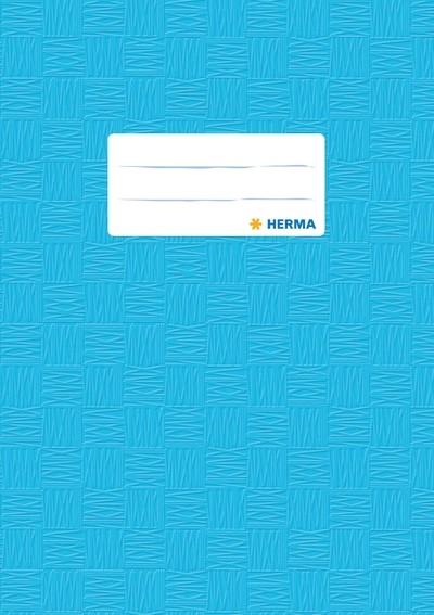 HERMA 7433 2500x Heftschoner PP A5 gedeckt/hellblau