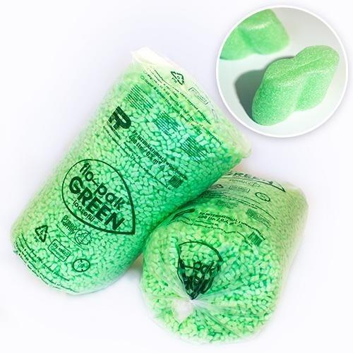 400 Liter BIO Flo-Pak Green Verpackungschips Füllmaterial