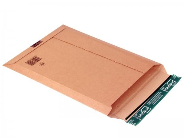 520 x 352 x -52 mm Versandtasche aus Wellpappe (braun)