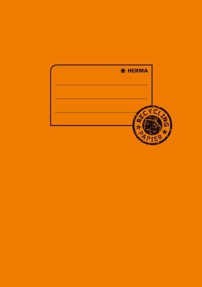 HERMA 5504 10x Heftschoner Papier A5 orange