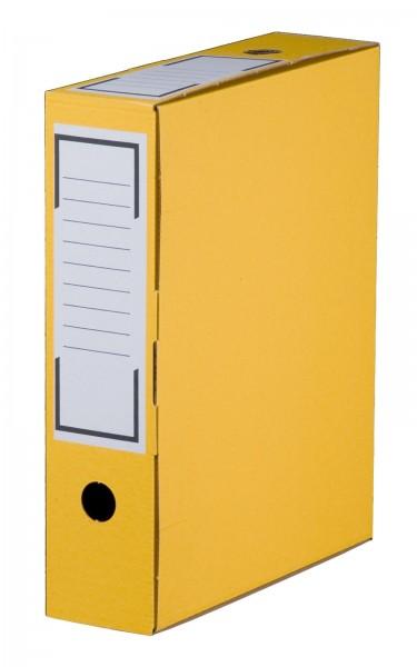 Archiv-Ablagebox 315 x 76 x 260 mm Gelb