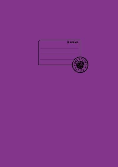 HERMA 5536 10x Heftschoner Papier A4 violett