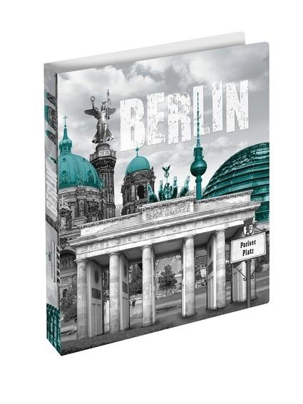 HERMA 19131 3x Ringbuch A4 Berlin