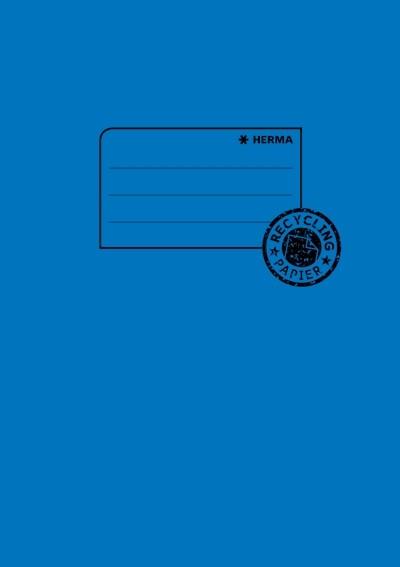 HERMA 5503 10x Heftschoner Papier A5 dunkelblau