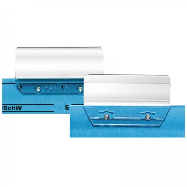 Vollsichtreiter 58 mm breit glasklar für Hängeregister