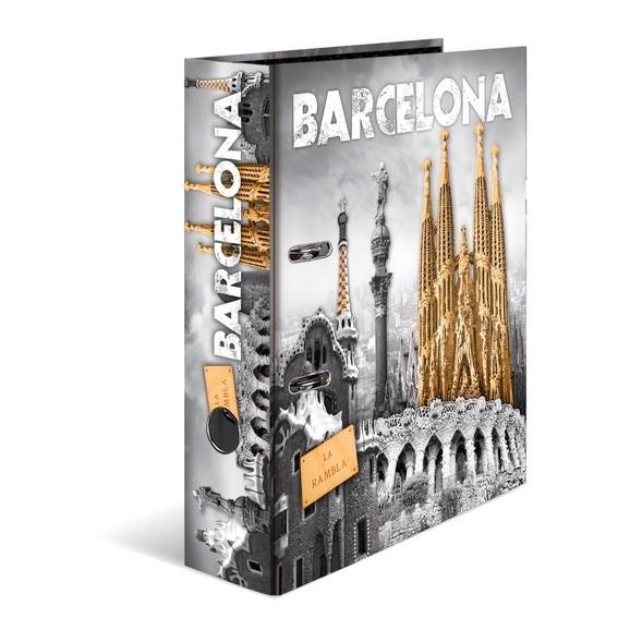 HERMA 7177 10x Motiv-Ordner A4 - Barcelona