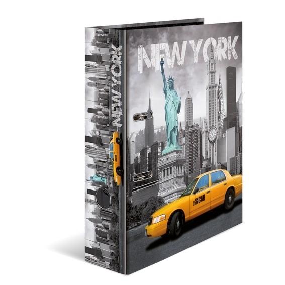 HERMA 7171 10x Motiv-Ordner A4 - New York