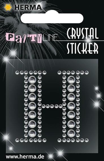 HERMA 15337 3x Crystal Sticker H