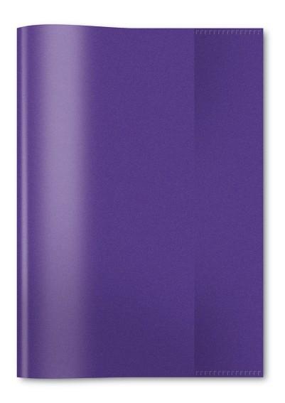 HERMA 7486 2500x Heftschoner PP A5 transparent/violett
